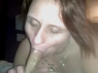 I'm his mouth whore for the night, stranger danger!!