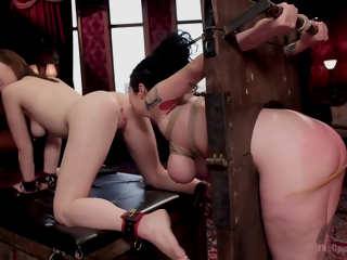Lily Labeau, Arabelle Raphael - Evil French Maid Steals All The Anal