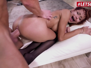 LETSDOEIT - Veronica Leal - Insane Anal With Colombian Petite Bombshell And Unreasoning Blarney