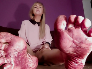 Bdsm Play With Foot Dirty Feet Mistress