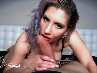 Hot Mistress Gives You The Best Edge