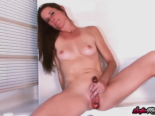 Sofie Marie In Stunning Jerks Gone With Toys