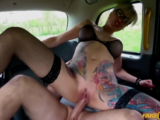 Chuck Loads Increased by Tanya Virago - Short-haired Milf With Glasses Pleasuring John In Hi