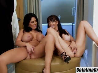 Girls Just Wanna Have Fun With Hot Girls With Catalina Cruz And Sienna West