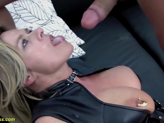 Moms Pussy Stretched Nearby Finale - Marina Rene