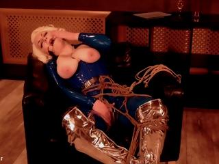 Sexy Latex Fetish Hot Blonde Milf In Thraldom Escape Video Free Bdsm Clip To Arya Grander
