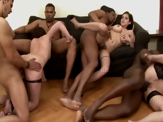 Dirty Interracial Party!! - Part.#05