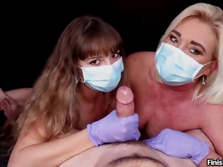 Cum Covered Babes Together quiet Want More! Hj Compilation